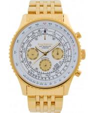 Krug-Baumen 600101DSA Mens air traveler diamante relógio automático