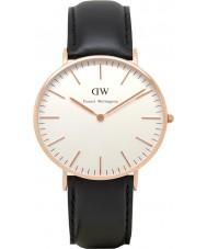 Daniel Wellington DW00100036 Ladies clássico Sheffield 36 milímetros subiu relógio de ouro