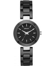DKNY NY2355 Ladies Stanhope relógio cerâmica preta