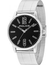 Police 14765JS-02M Mens Esquire relógio pulseira de aço de prata
