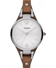 Fossil ES3060 Ladies geórgia relógio marrom