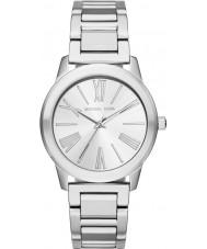 Michael Kors MK3489 Senhoras prata Hartman pulseira de aço relógio