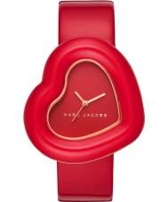 Marc Jacobs MJ1614 Relógio do coração das senhoras