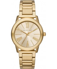 Michael Kors MK3490 Ladies ouro Hartman pulseira de aço relógio