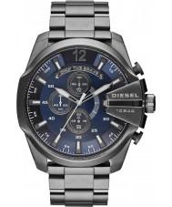 Diesel DZ4329 Mens mega-chefe relógio cronógrafo de aço bronze