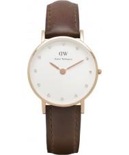 Daniel Wellington DW00100059 Ladies elegante st mawes 26 milímetros subiu relógio de ouro