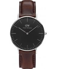 Daniel Wellington DW00100143 relógio de 36 milímetros Bristol clássico preto
