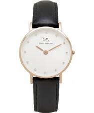 Daniel Wellington DW00100060 Ladies elegante 26 milímetros Sheffield subiu relógio de ouro