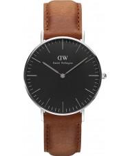 Daniel Wellington DW00100144 relógio clássico 36 milímetros Durham preto