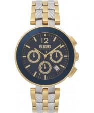 Versus SP76250018 Relógio do logotipo dos homens