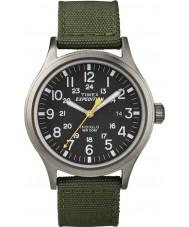 Timex T49961 Mens expedição relógio verde olheiro