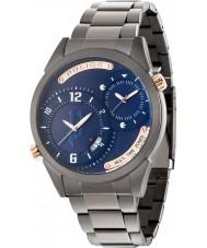Police 14540JSU-03M Mens dugite pulseira de relógio de aço bronze