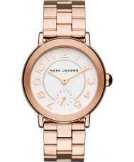 Marc Jacobs MJ3471 Ladies Riley subiu banhado a ouro pulseira de relógio