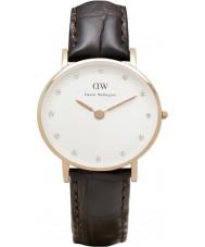 Daniel Wellington DW00100061 Ladies elegante 26 milímetros york subiu relógio de ouro