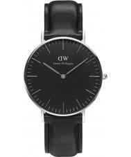 Daniel Wellington DW00100145 relógio clássico 36 milímetros Sheffield preto