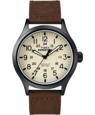 Timex T49963 Mens expedição relógio marrom olheiro