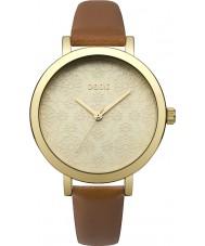 Oasis B1545 Ladies couro tan relógio pulseira