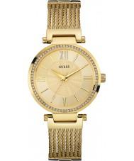 Guess W0638L2 Ladies soho banhado a ouro pulseira relógio