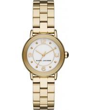 Marc Jacobs MJ3473 Ladies ouro Riley banhado relógio pulseira