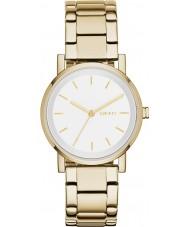 DKNY NY2343 Ladies soho ouro relógio pulseira de aço