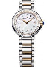 Maurice Lacroix FA1003-PVP23-170 Ladies fiaba rodada dois tons relógio com diamantes