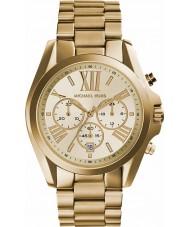 Michael Kors MK5605 Ladies Lexington banhado a ouro relógio cronógrafo