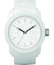 Diesel DZ1436 relógio branco para baixo de casal
