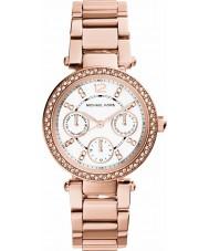 Michael Kors MK5616 Ladies parker ouro rosa relógio banhado