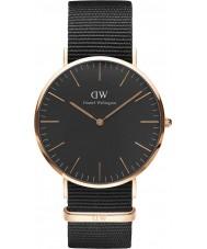 Daniel Wellington DW00100148 relógio clássico 40 milímetros Cornwall preto