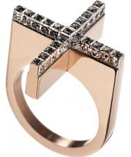 Edblad 82807 Senhoras dada anel de ouro rosa - tamanho n (s)