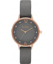 Skagen SKW2267 Ladies Anita cinza relógio de pulseira de couro