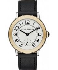 Marc Jacobs MJ1514 Ladies riley couro preto pulseira de relógio