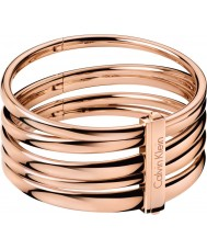 Calvin Klein KJ2GPD10010S Ladies subiu sumptuoso pulseira de ouro