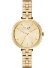 Kate Spade New York 1YRU0858 Ladies holland banhado a ouro pulseira relógio