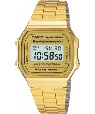 Casio A168WG-9EF Colecção de ouro clássico banhado relógio digitais