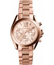 Michael Kors MK5799 Senhoras mini-Bradshaw subiu relógio cronógrafo de ouro