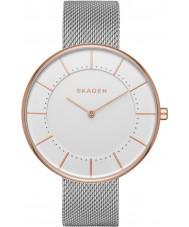 Skagen SKW2583 Ladies gitte de aço pulseira de prata malha relógio