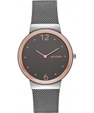 Skagen SKW2382 Senhoras freja aço cinza pulseira de relógio
