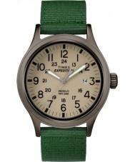 Timex TW4B06800 Mens expedição olheiro tecido verde relógio de pulseira