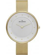 Skagen SKW2141 Ladies gitte relógio de ouro de malha