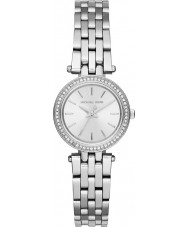 Michael Kors MK3294 Senhoras mini-darci aço de prata pulseira de relógio