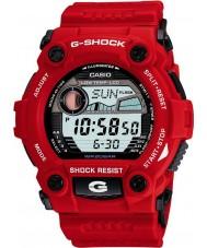 Casio G-7900A-4ER Mens g-choque g resgate relógio vermelho