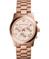 Michael Kors MK5128 Ladies runaway subiu relógio cronógrafo de ouro