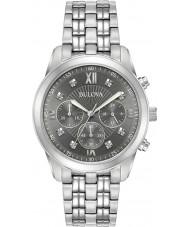 Bulova 96D135 relógio de diamantes Mens