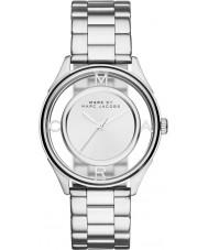 Marc Jacobs MBM3412 Ladies amarrar relógio de aço tom de prata