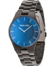 Police 14640MSU-70M Mens esplendor bronze pulseira de aço relógio