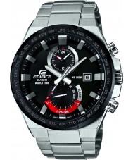 Casio EFR-542DB-1AVUEF Mens mundo edifício relógio de prata tempo