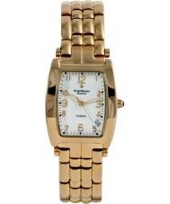 Krug-Baumen 1963DM Tuxedo diamantes mens relógio de ouro