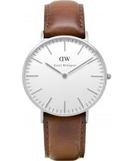 Daniel Wellington DW00100052 Ladies clássico st mawes 36 milímetros relógio de prata