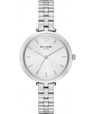 Kate Spade New York 1YRU0859 Ladies holland aço de prata pulseira de relógio